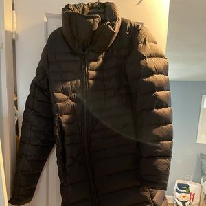 Authentic north face jacket, knee length